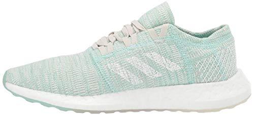 adidas Women's Pureboost Go, Clear Mint/White/Raw White, 9 M US