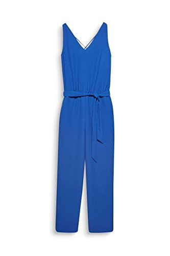 ESPRIT Collection Damen Jumpsuit, Blau (Bright Blue) - 3