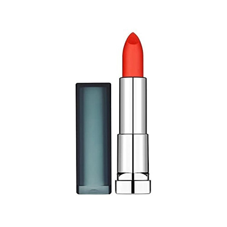 メイベリンカラーセンセーショナルな口紅955渇望サンゴ x4 - Maybelline Color Sensational Lipstick 955 Craving Coral (Pack of 4) [並行輸入品]