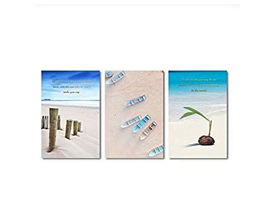 Kokospalme Samen Seelandschaft Drucken Moderne Wohnkultur Leinwand Kunst Malerei Wandbild