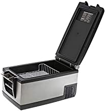 ARB 10801782 Portable Fridge Freezer 82 Quarts Electric Powered 12V/110V For Car, Boat, Truck, SUV, RV, Home Series II Black