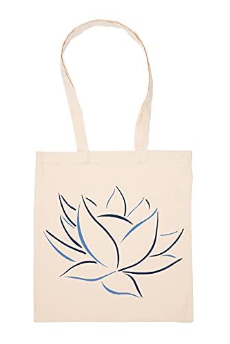 Gunmant Flor Hoja Bolsa De Compras Beige Durable Reutilizable Eco Friendly Reusable Shopping Bag