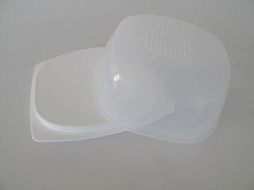 TUPPERWARE KäseMax Mini weiß transparent A197 Käsebehälter Käse Kondenspro Mini