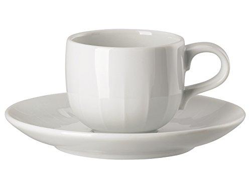 Arzberg 44020-800001-14715 Joyn Weiss Espressotasse 2tlg. (1 Obertasse/1 Untertasse)