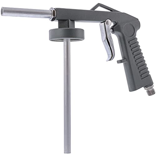 TCP Global Air Undercoating Spray Gun - Apply Sprayable Truck Bed Liner Coating, Rubberized Undercoat, Rust Proofing, Chip Guard Paint - Pneumatic Automotive Application Sprayer