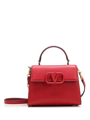 Luxury Fashion | Valentino Garavani Dames TW2B0F53KGWCU8 Rood Leer Handtassen | Lente-zomer 20