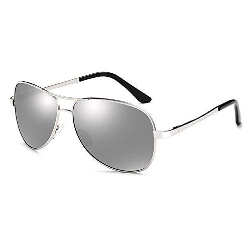LZXMXR Gafas de Sol Gafas de Sol polarizadas más vendidas Gafas de Sol de Color for Hombres Lentes de visión Nocturna Espejo de Rana Piernas de Primavera (Color : A2)