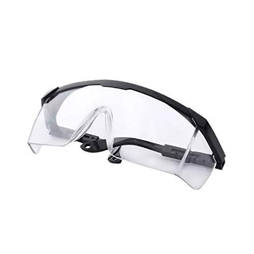 ADEWU Schutzbrille mit Anti-Staub Anti-Spray Brille Einstellbare ¨¹berbrille Safety Goggles Protective Glasses f¨¹r Damen Herren