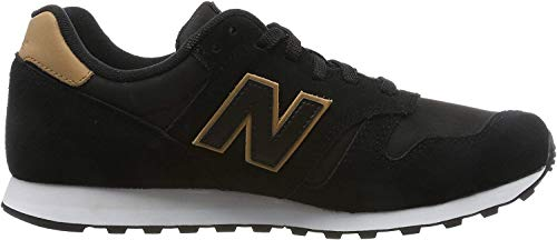 New Balance 373 Zapatillas Hombre, Negro (Black Black), 40.5 EU (7 UK)