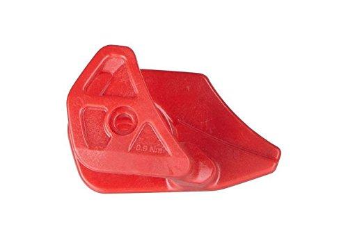 e13CGS. tr-d. dmba. R Kit Platte Verschleiß mit Befestigung Rot