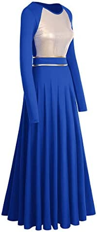 Royal blue with gold dress _image3