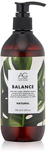 AG Hair Natural Balance Apple Cider Vinegar Sulfate-Free Shampoo