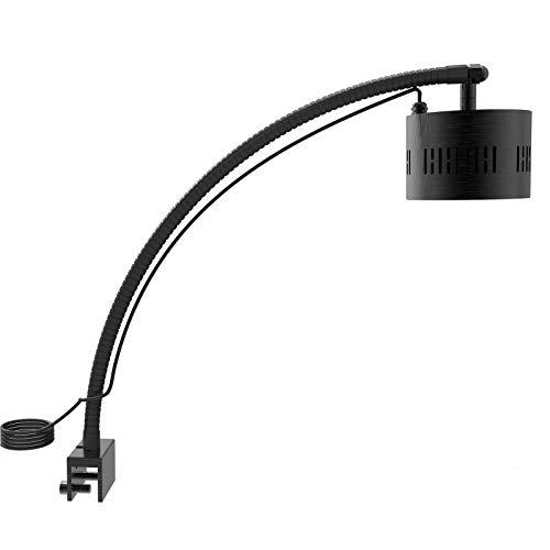 Lumini - Lámpara led para acuarios, programable, 4 canales, para acuarios de agua salada, arrecife de coral y agua dulce