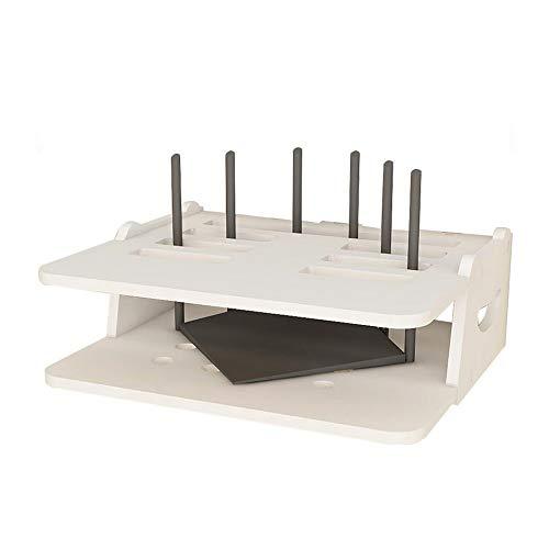 JCNFA-BOEKENPLANK STB-rekken For Wandmontage, Router Opbergdoos, Multifunctioneel/Mooie Ruimtebesparende/Milieubeschermende Materialen/Waterdicht En Vlamvertragend