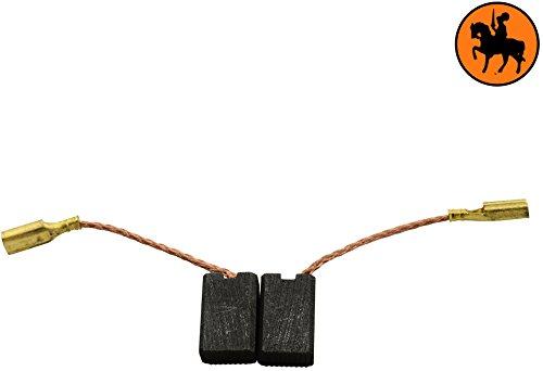 Escobillas de Carbón para KRESS 420 BME taladro -- 5x8x12,3mm -- 2.0x3.1x4.7\'\'