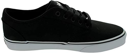 Vans Herren Atwood Canvas Sneaker, Schwarz (Black Vtuy187), 42.5 EU
