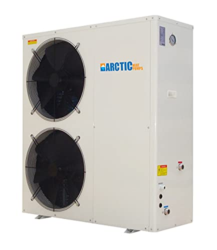 Northern Lights Group Arctic Titanium Heat Pump for Swimming Pools and Spas - Heats & Chills - 88,000 BTU - DC Inverter