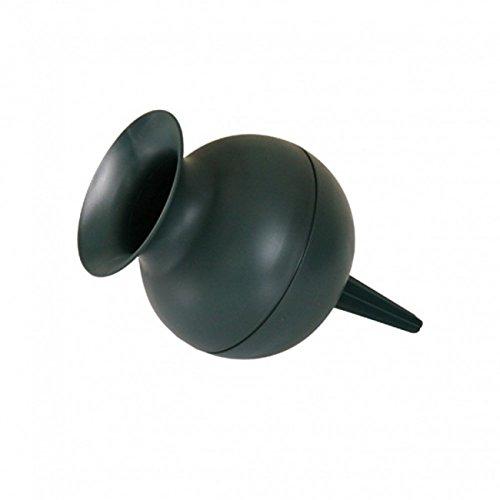 Grabvase Kugelform grün 22cm