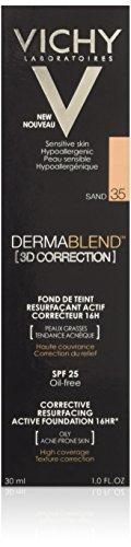 Vichy Dermablend Fondotinta Correttore, Sand - 30 ml