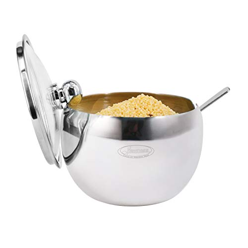 Newness Stainless Steel Sugar Bowl