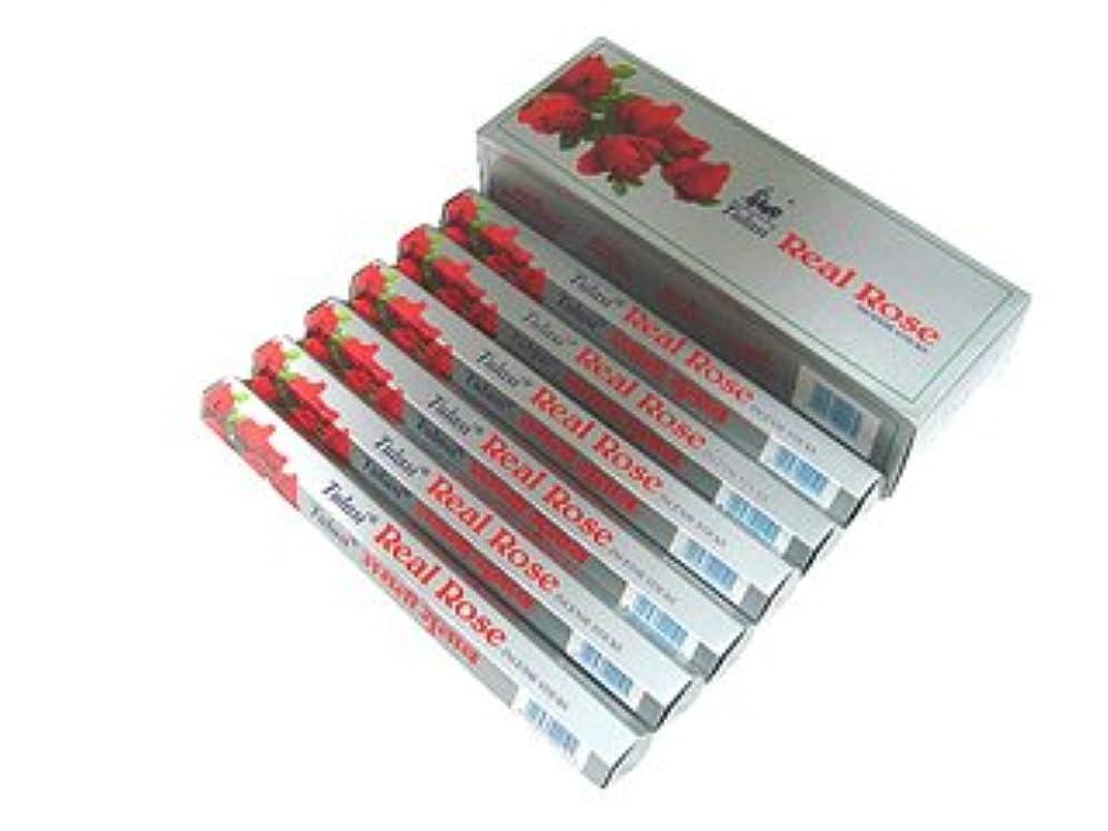 製造業支店牧草地TULASI(トゥラシ) リアルローズ香 スティック REAL ROSE 6箱セット