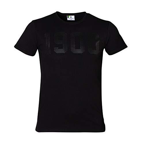 Borussia Mönchengladbach Herren - Shirt *19hundert* schwarz (XXL)