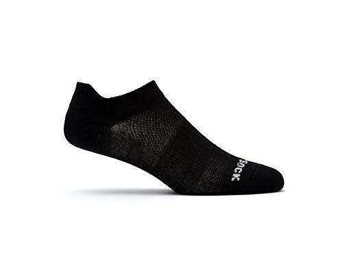 Wrightsock Coolmesh II Tab Sock - Black Small by Wrightsock