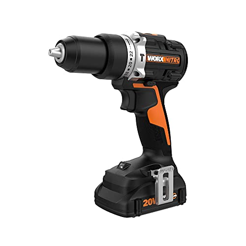 """Worx Nitro WX352L 20V Brushless ½"""" Hammer Drill"""
