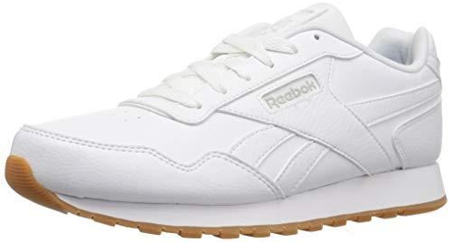 Reebok Mens Classic Harman Run Sneaker, us-white/gum, 10.5 M US