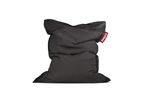 Fatboy Original Slim Outdoor Bean Bag Lounge Chair, Charcoal