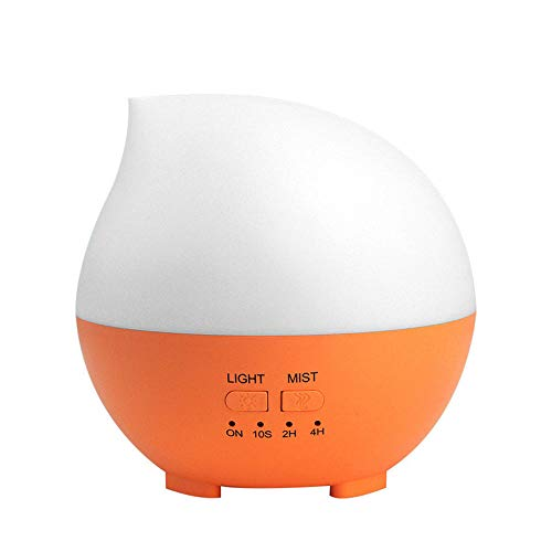 HDFIER humidificador jane ultrasonico Difusor Aromaterapia, con Vapor Frío, Auto-apagamiento para Hogar, Oficina Humidificación de agua húmeda