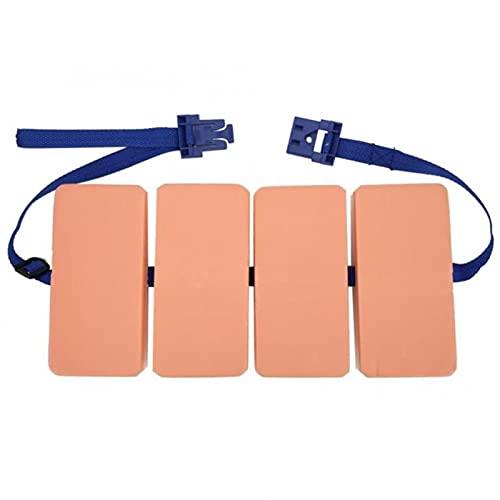 Miaow house Schwimmendes Schaumstoff-Board mit Taillengürtel und verstellbarem EVA-Board, für Erwachsene und Kinder, Schwimmtrainingsausrüstung, Luftmatratze