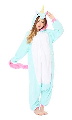 Kigurumi Pyjama Licorne Bleu 2750BL - Adultes (1m50 a 1m80)