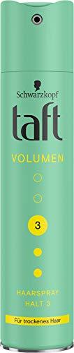Taft Haarspray Volumen Trockenes Haar Halt 3, 250 ml