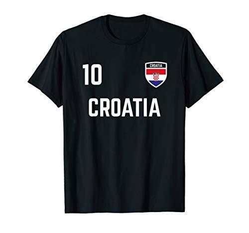 Croatia Soccer Jersey 2019 Croatian Football Team Fan Shirt T-Shirt