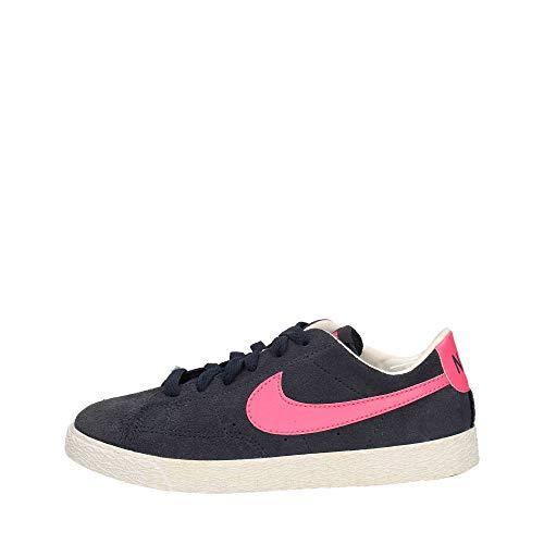 Nike  Blazer Low (PS),  Sneaker ragazzo Grigio Gris, vert et blanc 30