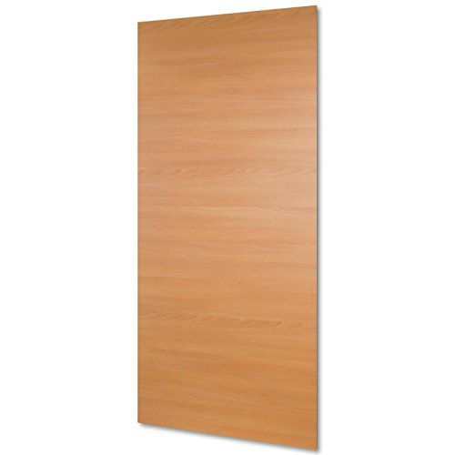 inova Holz-Schiebetürblatt Buche 880x2035 mm Vollspan Tür-Blatt Holztür-Blatt Schiebetür