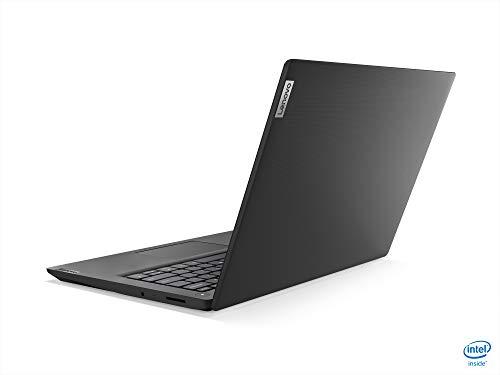 Product Image 1: 2021 Newest Lenovo Ideapad 3 Premium Laptop, 14″ HD Display, Intel Pentium Gold 6405U 2.4 GHz, 8GB DDR4 RAM, 128GB NVMe M.2 SSD, Bluetooth 5.0, Webcam, WiFi, HDMI, Windows 10 S, Black + Oydisen Cloth