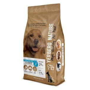 YERBERO Nature Zalm & Rijst, Hypoallergeen glutenvrij hondenvoer 3 kg