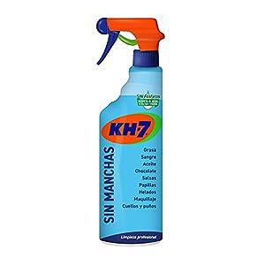 KH-7 Sin Manchas - Máxima Eficacia, Elimina sin Esfuerzo las Manchas más Difíciles, Fórmula sin Lejía, Repecta los Tejidos y los Colores, Formato Pulverizador, Cómodo y Rápido - 750 ml