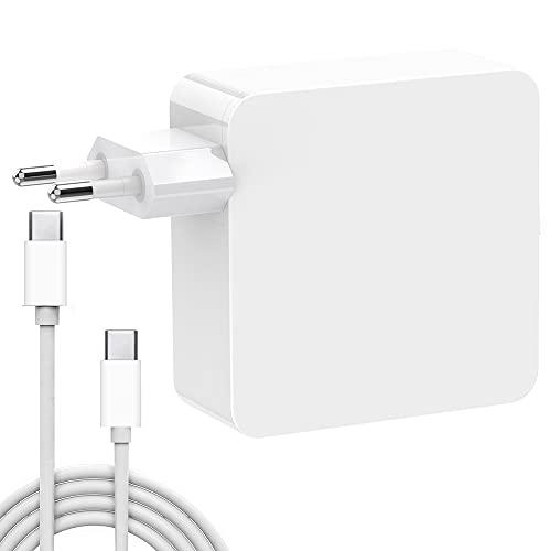 USB C Caricatore, HUMTOOL 96W USB C Adattatore per Mac Book Pro, 96W Type C Caricatore Compreso cavo USB C Compatible con Mac Book Air/Pro/Retina, iPad Pro, iPhone 11/11 Pro/Pro Max, HUAWEI, SAMSUNG