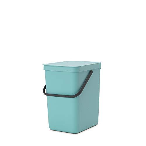 Brabantia Cubo de Basura, Menta, 25 L