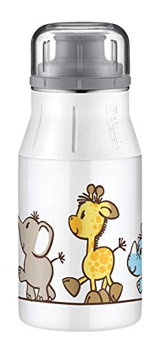 alfi elementBottle Trinkflasche, Edelstahl, Safaripark, 0,4 Liter