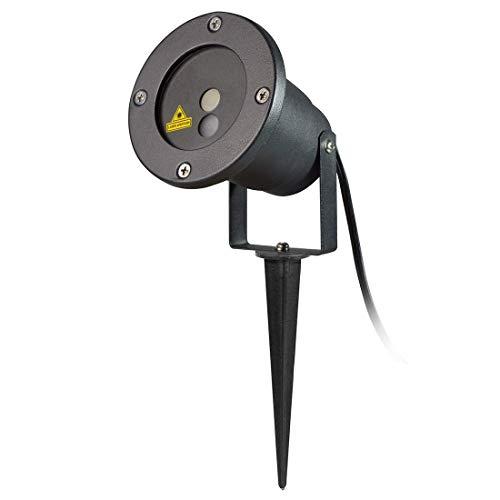 RONGW JKUNYU 5W Vida Impermeable 12 en 1 Patrones al Aire Libre del césped Yard Jardín Decorativo de la lámpara con la Linterna a Distancia Control de iluminación