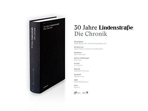 30 Jahre Lindenstraße. Die Chronik