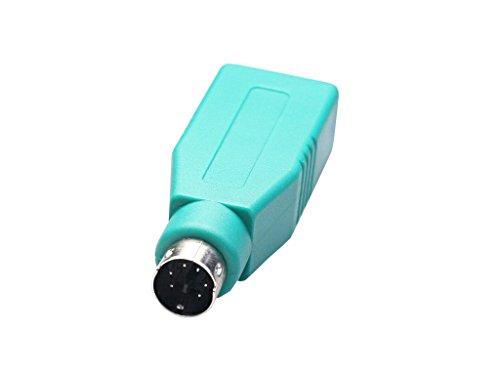 Avalva Adaptador USB Hembra A PS2 Macho