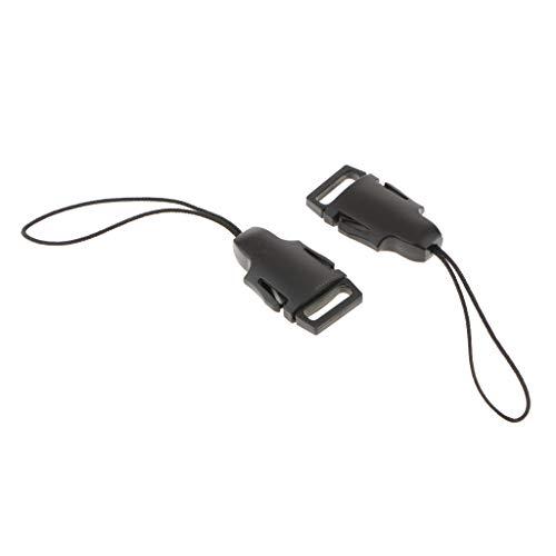 KESOTO 1 Paire De Mini Boucles QD Adaptateur pour Courroie De Cou à Dégagement Rapide pour Appareils Photo Reflex Fujifilm Samsung Sony Olympus Panasonic