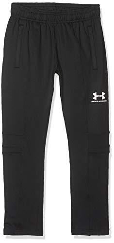 Under Armour Youth Challenger III Train Pant, enganliegende Jogginghose, leichte Sporthose Jungen, Black / White , YXL