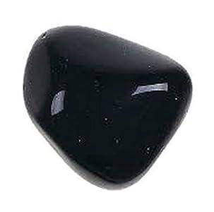 Healing Crystals India Chakra Crystals Healing Stones Natural Crystals Gemstones Spiritual Stones Reiki Healing Chakra Balancing Metaphysical Healing Polished Tumbled Stones (1, Black Onyx)