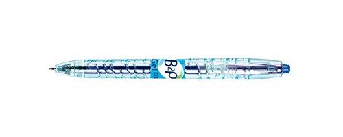 Pilot B2P Gelschreiber (versenkbare Minenführung, Spitze 0,7 mm) 10 Stück blau